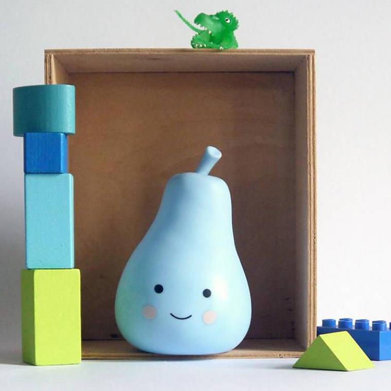 A Little Lovely Company  Mini pear light Blue