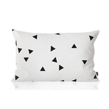 Ferm Living Black mini Triangle Pude
