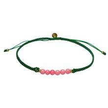 Stine A Candy Bracelet Rosa Og Grøn Bånd