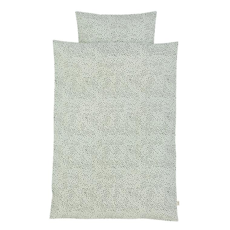 Ferm Living Sengetøj Mint Dot