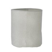 Ferm Living Medium Basket Grey Cross