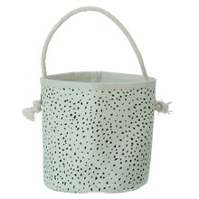 Ferm Living Mini Basket Mint Dot
