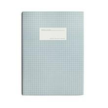 Kartotek Stor Notesbog Lyseblå