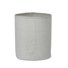 Ferm Living Small Basket Grey Cross