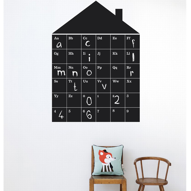 Ferm Living ABC House wallsticker