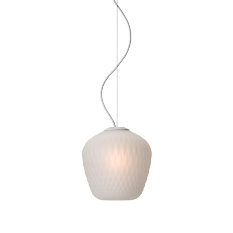 & tradition Blown Lampe SW3 Hvid