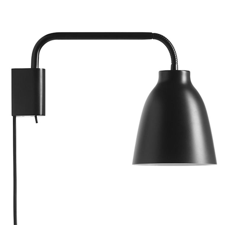 Lightyears Caravaggio Væglampe Sort