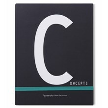 Design Letters Notebook, C for Concept