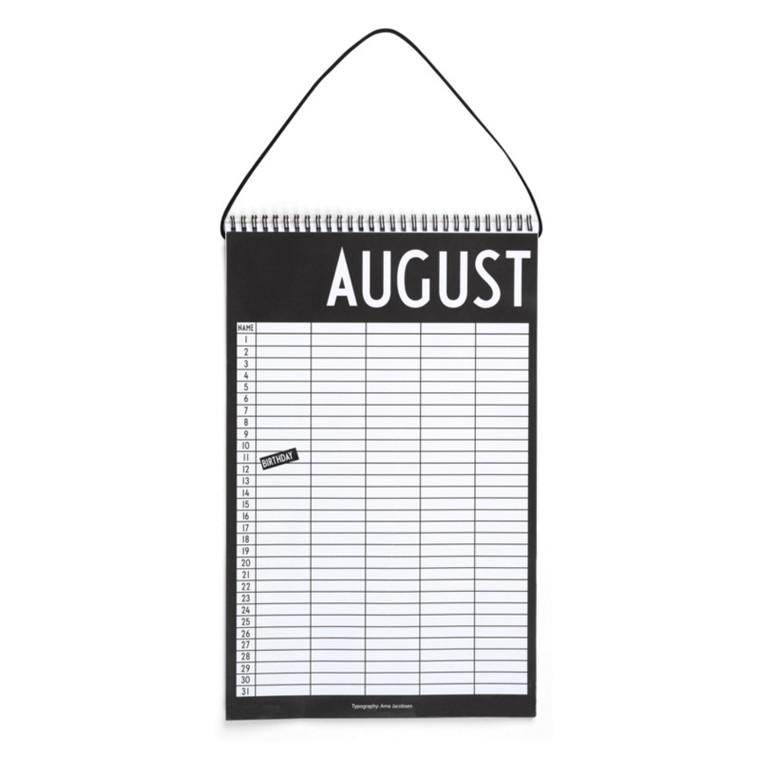 Design Letters Kalender Monthly Planner