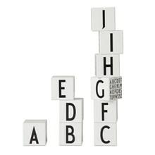 Design Letters Træklodser Hvid