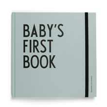 Design Letters Babybog Baby's First Book Turkis