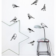 Ferm Living Drawing Birds wallsticker