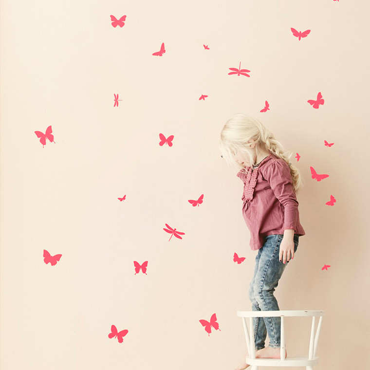 Ferm Living Wallsticker Mini Butterflies