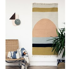 Ferm Living Kelim Rug - Tæppe - Semicircle Small
