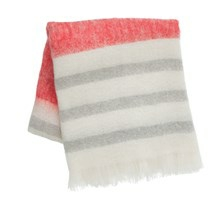 Ferm Living Tæppe Mohair Throw Rød