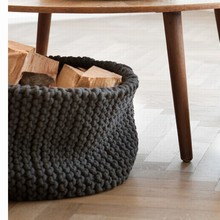 Ferm Living Knitted Basket - grå