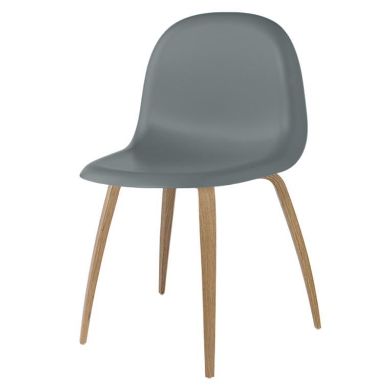 Gubi 5 Stol HiRek Rainy gray - ege base