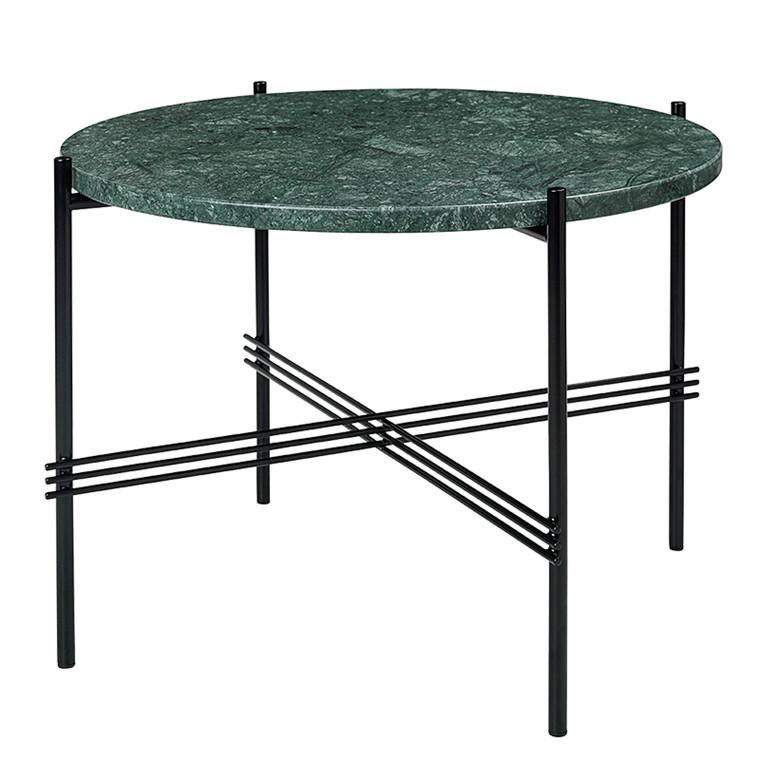 Gubi TS Table Grøn Marmor Sofabord Ø55