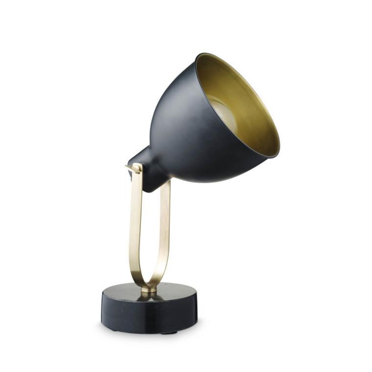 H. Skjalm P. Bordlampe m. Stor Skærm
