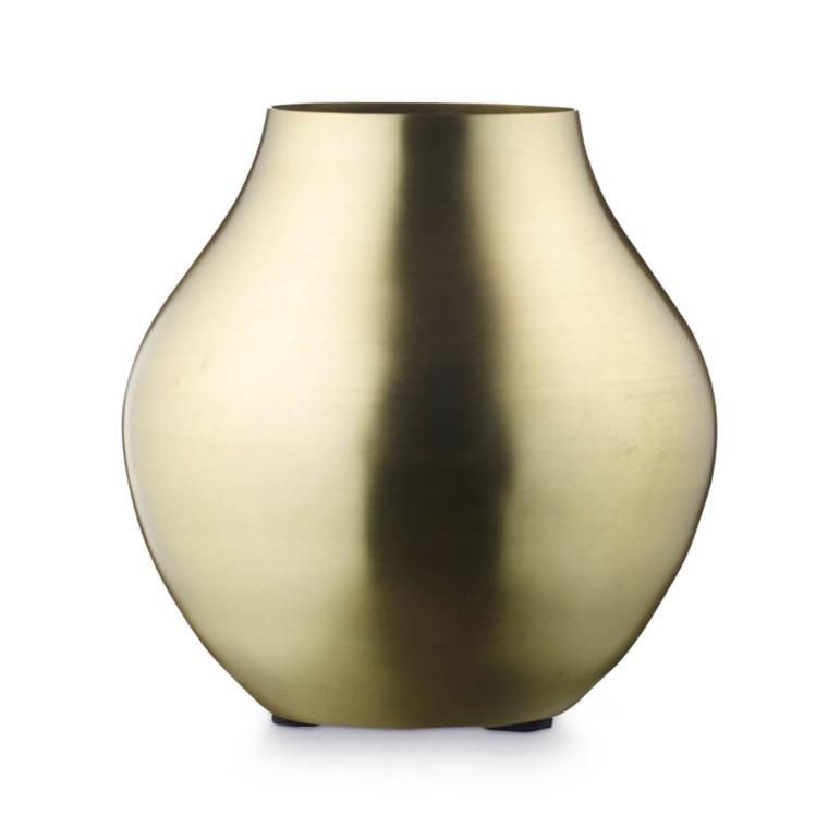 H. Skjalm P. Vase Louis Mat Messing