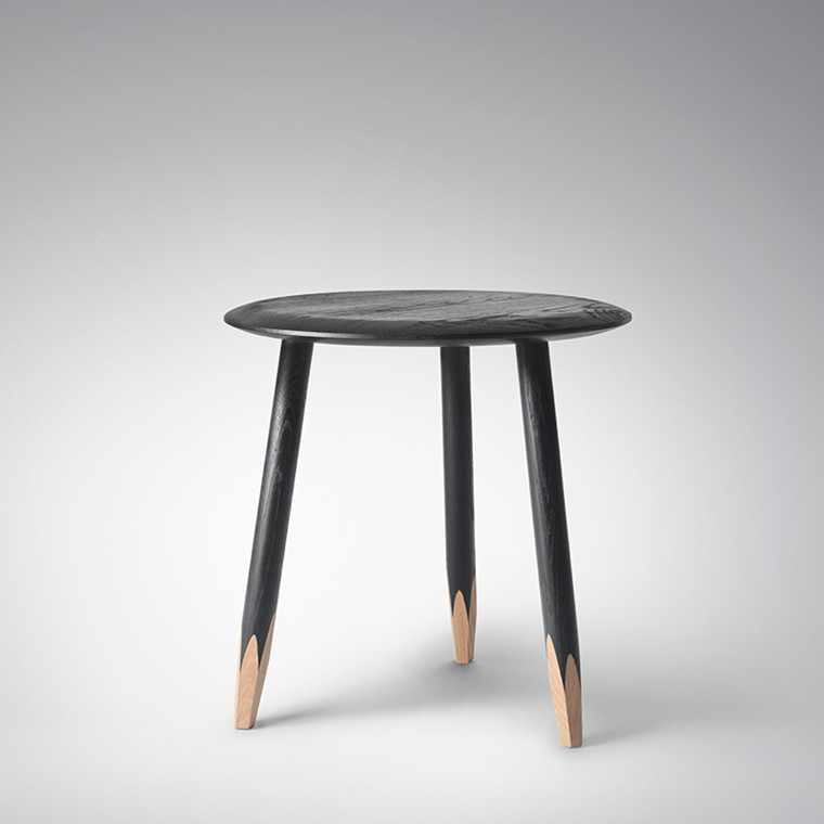 & Tradition Hoof Lounge Table SW1 - Sort