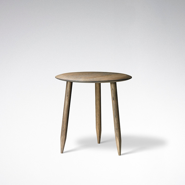 & Tradition Hoof Lounge Table SW1 - Mørkolieret Eg