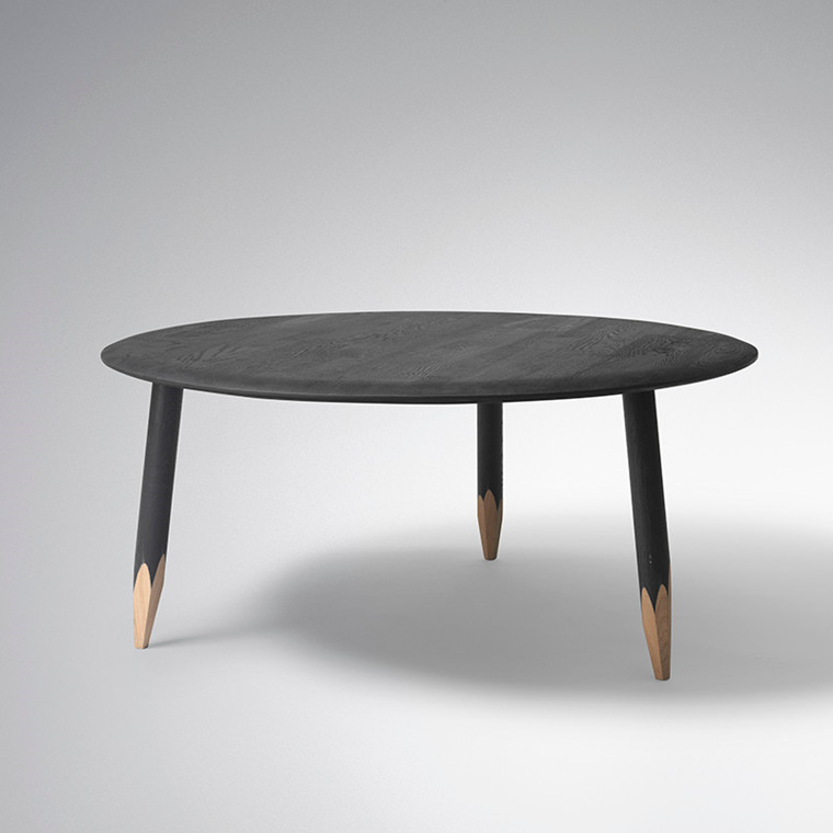 & Tradition Hoof Lounge Table SW2 - Sort