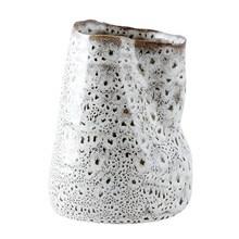 House Doctor Vase Bend Hvid-Brun