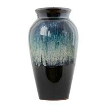 House Doctor Vase Antique Sort-Grøn