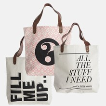 House Doctor Taske/Shopper med Print