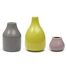 Kähler Botanica Miniature Vaser Lys