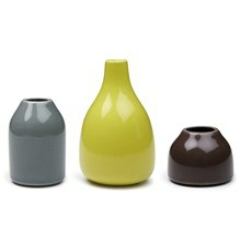 Kähler Botanica Miniature Vaser Mørk
