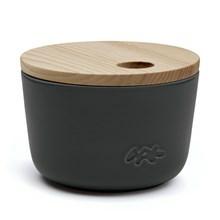 Kähler Unit Miniature Opbevaringskrukke Antracitgrå Mellem