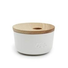 Kähler Unit Miniature Opbevaringskrukke Hvid Lille