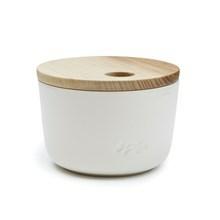Kähler Unit Miniature Opbevaringskrukke Hvid Mellem
