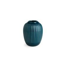 Kähler Hammershøi vase H100 Petroleumsblå