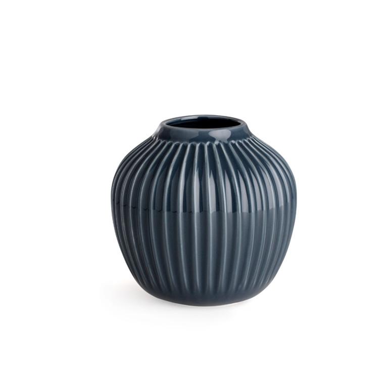 Kähler Hammershøi Vase H125 Antracitgrå