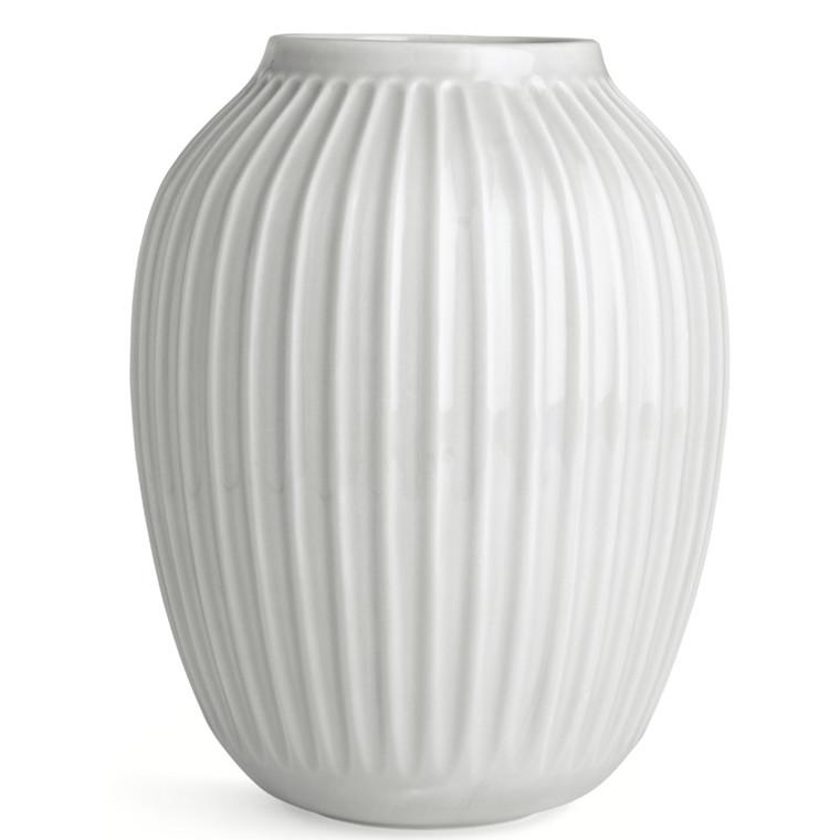 Kähler Hammershøi Vase Hvid H250