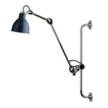 Lampe Gras Væglampe Krom-Blå No 210