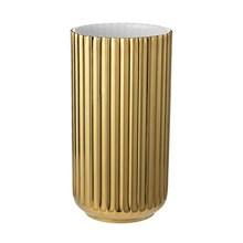 Lyngby Vase Glossy Gold