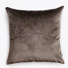 New Works Velvet Cushion grey