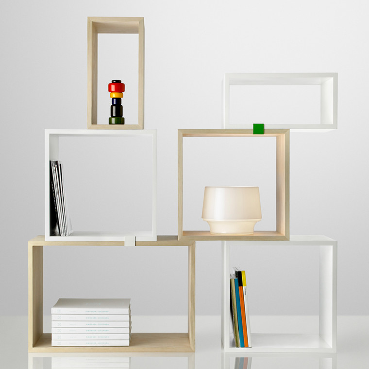 Muuto Stacked Reol Opstililng 1
