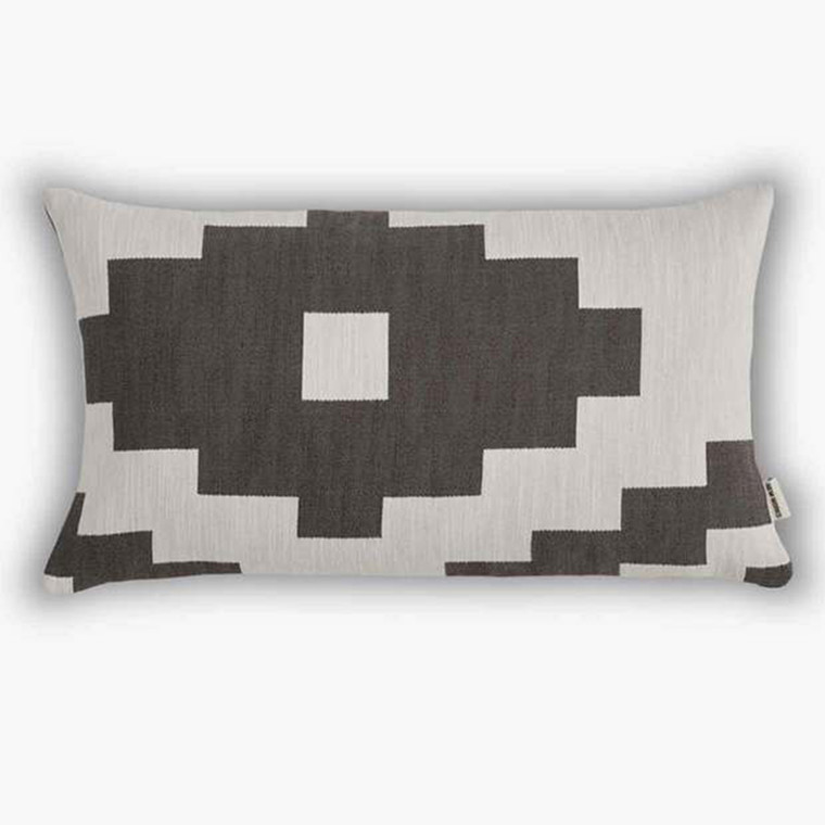 New Works pude Ikat Brown aflang