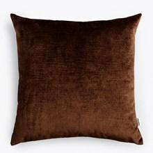 New Works Velvet Cushion dark brown