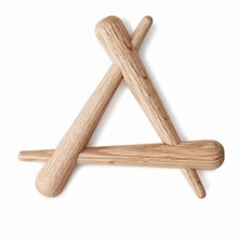 Normann Copenhagen Timber trivet bordskåner