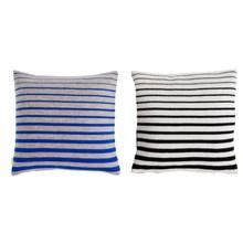 OYOY Simple Pude blå/sand & sort/hvid