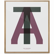 "Playtype Plakat ""AT"""