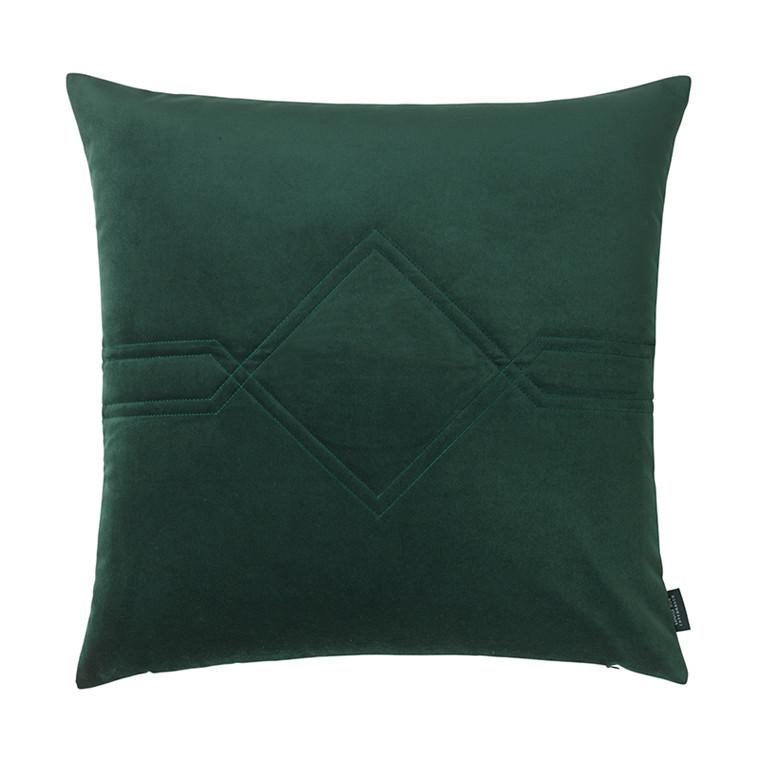 Louise Roe pude Diamond Velvet Jade Green 60 x 60 cm