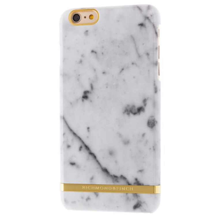 Richmond and Finch White marble iPhone6+ cover