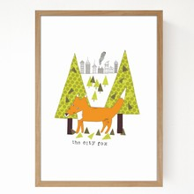 Seventy Tree City Fox A4
